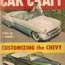 Car Craft May 1956 - Chevy Hood Taillight Plymouth Olds