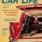 Car Life May 1956 - Hawk Thunderbird Wagon Nomad VW