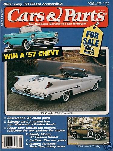 Cars & Parts Magazine 1991 - 1960 Chrysler 300-F Fiesta