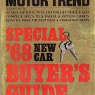 Motor Trend November 1967 - Mustang  Camaro Road Runner
