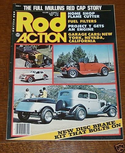 Rod Action March 1978 - '32 Ford Cabriolet, 28 Roadster