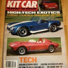 Petersen's Kit Car May 1987 - Cobra Corvette Countach