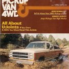 Pickup Van & 4WD April 1980 - Club Cab Jeep CJ-5 Fiat