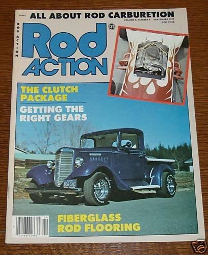 Rod Action Septembr 1979 - 1935 Internatinal Pickup