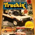 Truckin' January 1981 - Van Truck Pickup