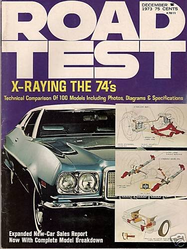 Road Test December 1973 - Datsun, Review of 1974s X-Ray