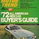 Motor Trend October 1971 -Maserati RX2 Z28 Mercedes GTO