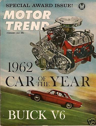 Motor Trend February 1962 - Buick V6 Dauphine Suiza