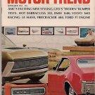 Motor Trend September 1967 - Barracuda Volvo BMW GTO
