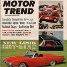 Motor Trend December 1961 - T-Bird Stocks Drags Triumph