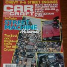 Car Craft Magazine October 1982 - Classic Cars NHRA