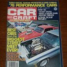 Car Craft Magazine October 1977 - Classic Cars NHRA