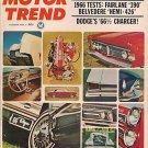 Motor Trend October 1965 - Mustang Charger Belvedere