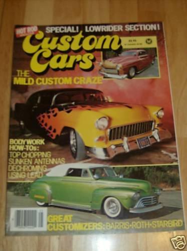 Hot Rod Custom Cars 1982 - Lowrider, Corvette, '51 Merc