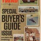 Motor Trend November 1966 - Camaro Charger Corvette