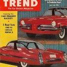 Motor Trend May 1953 - Lincoln X-500 Duesenberg Pheaton