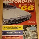 Motorcade Sept 1966 - Special Issue '66 Cars, Charger