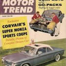 Motor Trend August 1960 -Corvair Monza Super Coupe Indy