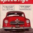 Speed Age January 1952 Nash Rambler Race Banks Ferrari