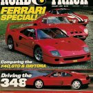 Road & Track January 1990 - Ferrari GTO Daytona Racing