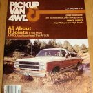 Pickup Van & 4WD April 1980 - Dodge Jeep Chevy Ford GMC