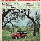 Four Wheeler May 1975 Jeep Baja Reo Land Rover CB Truck
