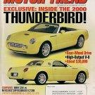 Motor Trend March 1999 - Thunderbird BMW Lincoln Lexus