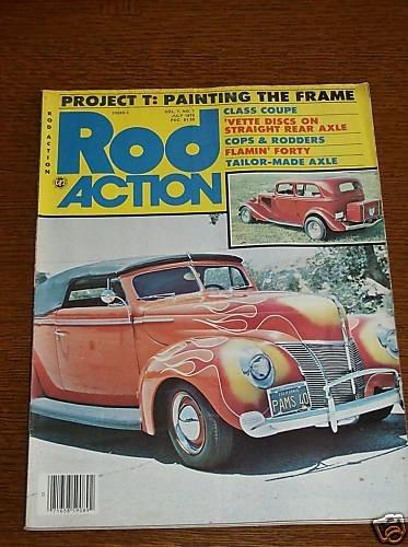 Rod Action Magazine July 1978 - Classic Car Street