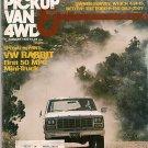 Pickup Van & 4WD January 1980 - Mini Truck Wolverine II