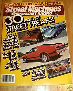 Steet Machines & Bracket Racing #3 1979 - Mustang Vette