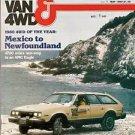 Pickup Van & 4WD Magazine May 1980 Dodge Toyota Eagle