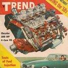 Motor Trend August 1957 - Corvette Thunderbird Golden