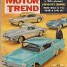 Motor Trend December 1957 - Corvette Lincoln Ambassador