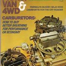 Pickup Van & 4WD December 1976 Carburetor Fuel Economy