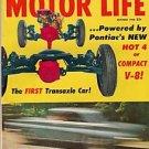 Motor Life October 1960 - Transaxle Tempest Racing Vega