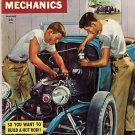 Speed Mechanics January 1953 #1 First Drag Hot Rod Race