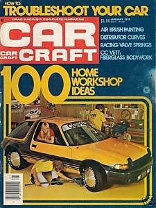 Car Craft January 1976 - IHRA NHRA Pacer Airbrush Vette
