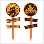 Halloween Garden Stake Set #38929