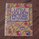 Little Golden Picture Dictionary - 1981