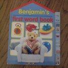 Benjamin's First Word Book