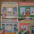 Set of 4 Sesame Street Board Books