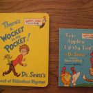 Two Dr, Seuss Board Books