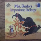 Mrs. Brisby's Important Package
