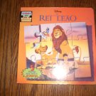 Disney Lion King Book with mini puzzles inside in Spanish