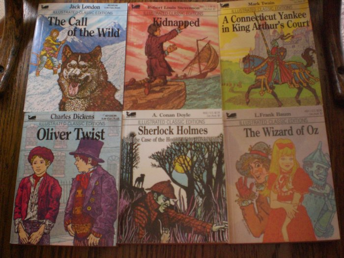 Six Illustrated Classics
