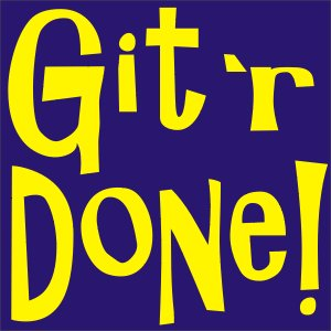 Git 'r' Done Vinyl Lettering Auto Graphic Decal Sticker