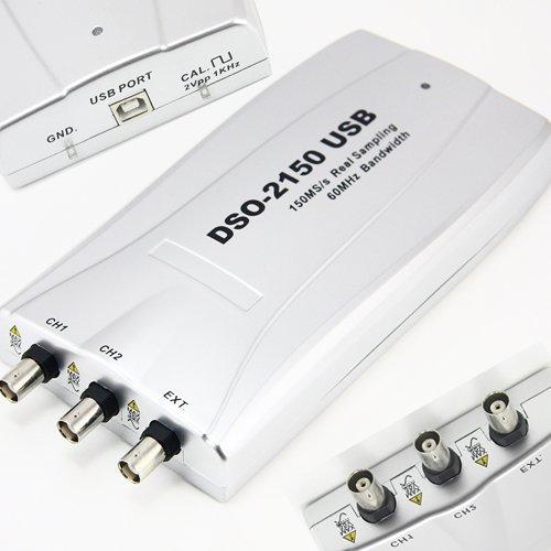 150MS/s PC USB Digital Storage Oscilloscope DSO 2150 Virtual DSO SBQ-002 US