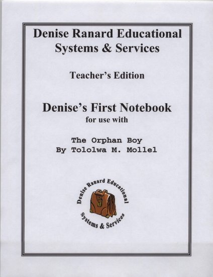 The Orpha Boy - The Complete Notebook Set
