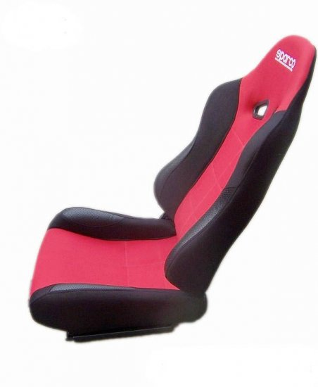 TWO Sparco Milano 2 Red Seats