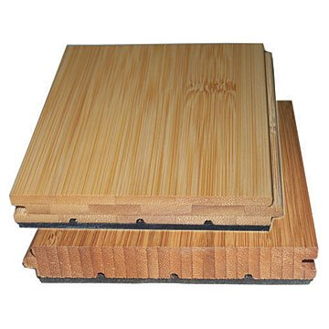 Sound proof bamboo flooring